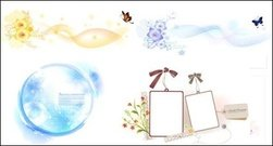 oval,lace,butterfly,label