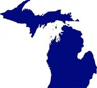 state,michigan,usa,penninsula,geography,media,clip art,public domain,image,png,svg