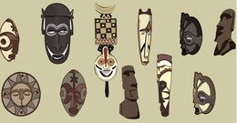 object,ancient,mask
