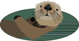 otter,animal,cute,media,clip art,public domain,image,svg,png