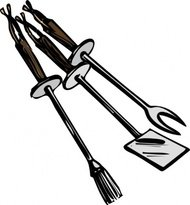 grilling,tool,cooking,babrbecue,fork,spatula,grill,utensil