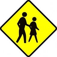 crossing,adult,sign,traffic,roadsign
