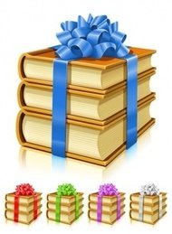 gift,book,ribbon,bow