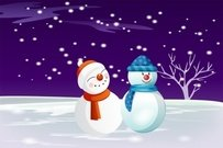 snowman,holiday