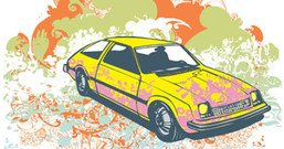 transport,old,yellow,car,colorful,background,grunge,retro,illustration,trend,pattern,element,material,chadlonius,filigree,vehicle,hatchback,retro,car,vector,vehicle,trend