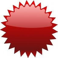 colour,red,button,shine,icon,web,media,clip art,public domain,image,svg