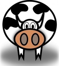 cow,animal,cartoon,vaca,moo,media,clip art,public domain,image,svg