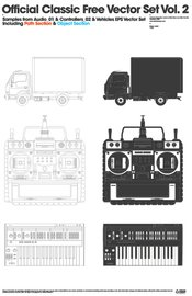 official,classic,set,truck,keyboard,technology,control,remote