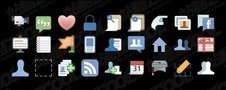 facebook,style,icon,material