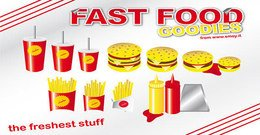 fast,food,goody,burger,hamburger,drink,fries,french,potato,goody,drink