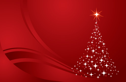 red christmas tree background - photo #5