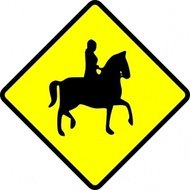 caution,horse,ridder,crossing,sign,traffic,roadsign,media,clip art,public domain,image,svg
