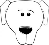 face,cartoon,world,label,animal,dog,outline,worldlabel,externalsource