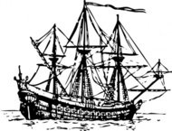 genoese,carrack,ship,maritime,history,sailing,media,clip art,externalsource,public domain,image,png,svg