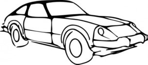 outline,modified,remix,vehicle,car,transpotation,stylized,clip art,media,public domain,image,png,svg