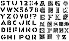 english,letter,number,vector