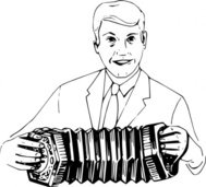 playing,concertina,people,man,music,musical instrument,ent,cello,drawing,line art,black and white,contour,outline,media,clip art,externalsource,public domain,image,png,svg,wikimedia common,psf,wikimedia common