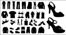 silhouette,clothing,shoe