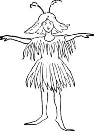 fairy,person,girl,costume,media,clip art,externalsource,public domain,image,png,svg