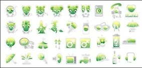 green,cute,icon,vector,material