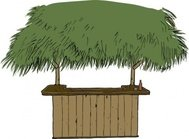 tiki,tiki bar,bar,alcohol,drink,beer,media,clip art,public domain,image,png,svg