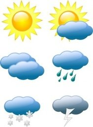 weather,symbol,sun,cloud,rain,snow,storm,nature