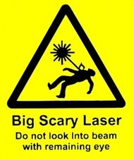 scary,laser,humor,sign,warning,physic,lab,symbol