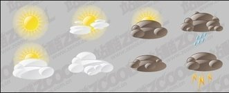 material,chang,weather,icon,sun,cloud,rain,storm,illustrator,artwork