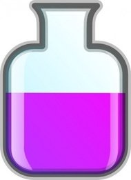 icon,remix,laboratory,science,chemistry,flask,clip art,media,public domain,image,png,svg