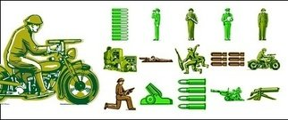 foreign,military,personnel,theme,vector,material