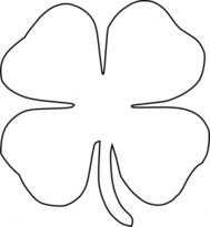 Four Leaf Clover Tattoo Art Clip Art Download 1000 Clip Arts Page