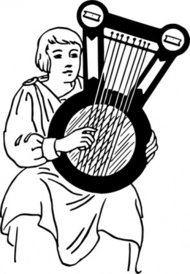 psaltery,musical,instrument,people,man,music,ancient,musical instrument,string instrument,line art,black and white,contour,outline,media,clip art,externalsource,public domain,image,png,svg,wikimedia common,psf,wikimedia common