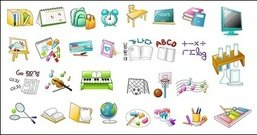 school,item,icon,vector,material