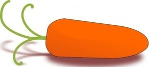 baby,carrot,clip
