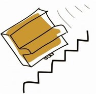 addon,piano,fall,down,stair,cartoon,line art,falling down stair