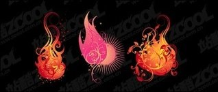 flame,pattern,vector,modeling,material
