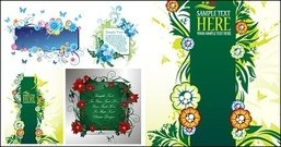 beautifully,decorated,bulletin,board,pattern,vector,material