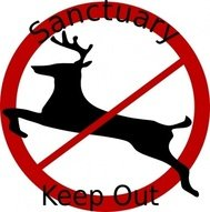 deer,sanctuary,sign