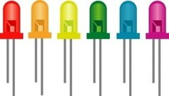 rainbow,light,emitting,diode,electronic,component,led