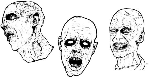 Illustrated,scary,zombie
