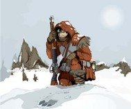 snow,hunter