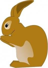 rabbit,bunny,animal,mammal,farm,pet,color,contour