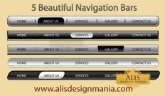 beautiful,navigation,bar,web,design5,element,bar,element,design,element