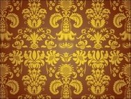 seamless,pattern,beautiful,brown,golden,flower,wallpaper,ornament,swirl,tile