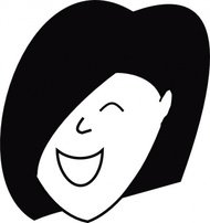 happy,woman,people,face,cartoon