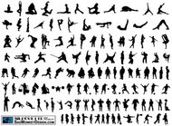 silhouette,smdsilhouette,people,different,action,soldier,gymnast,shooter,acrobat,stretching,dancing,break,dance,karate,kung fu,martial,art,kick,punch,football,sport,muscle,cowboy,silhouette,acrobat,art,sport,silhouette,action