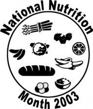 national,nutriion,month,clip