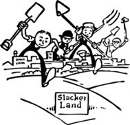 slacker,land,farm,farmer,farming,city,people,cartoon,media,clip art,externalsource,public domain,image,png,svg