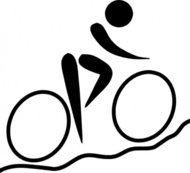 olympic,sport,cycling,mountain,biking,pictogram,clip