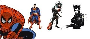 spiderman,superman,cartoon,film,character